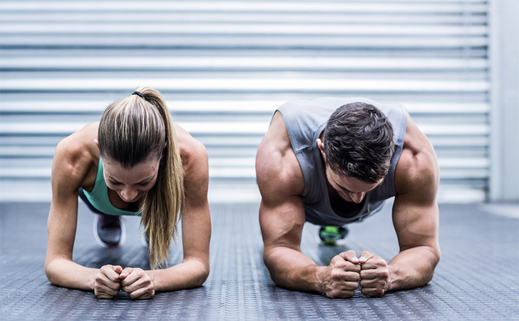 Couple-workout-together